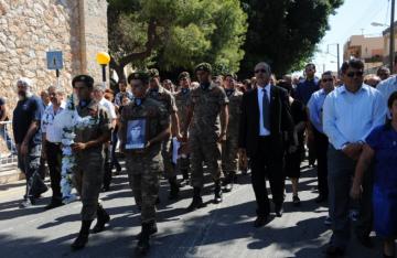 Κηδεία Αγνοουμένου Αντώνη Παντελή (Ράφτη) - 8 Σεπτεμβρίου 2013