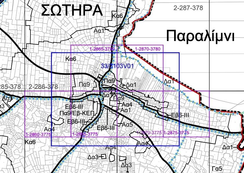 ΤΟΠΙΚΟ ΣΧΕΔΙΟ 2020 - ΣΧΕΔΙΑ ΟΔΙΚΟΥ ΔΙΚΤΥΟΥ