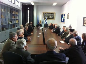 Επίσκεψη Ένωσης Αγωνιστών Αμμοχώστου ΕΟΚΑ 1955-59