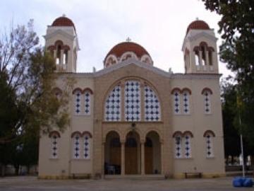 Ο νέος ναός της Μεταμορφώσεως του Σωτήρος Χριστού